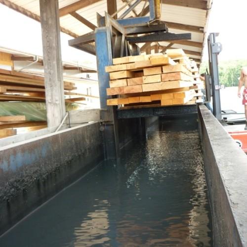 De liquide à solide – Le traitement du bois dans tous ses états