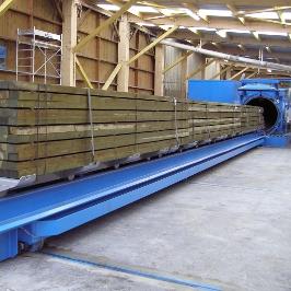 Le traitement de bois par autoclave