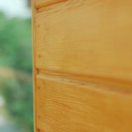 Des bardages en bois bien traités