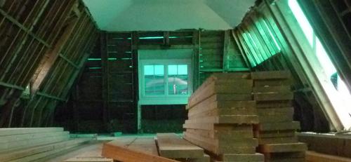 Le traitement des bois dans le projet de réhabilitation de la colonie de vacances de Beyssac