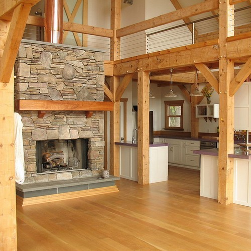 La construction Poteaux-Poutres : quand le bois allie souplesse et robustesse